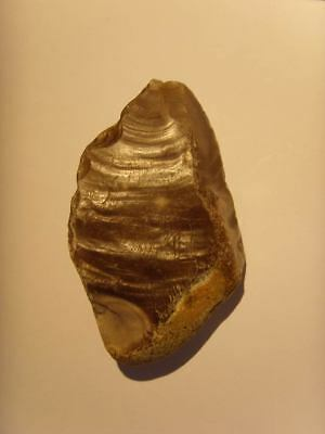 Palaeolithic -  Early 'Acheulian/ clactonian; point - UK found