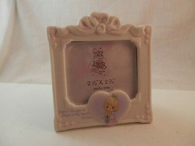 """Precious Moments Picture frame There is always a place in my heart  2.5""""x 2.75"""""""