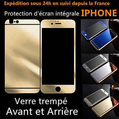 Film Protection Protege Ecran Miroir Vitre Verre Trempe Iphone 4,5,6,6S,Plus,7 8