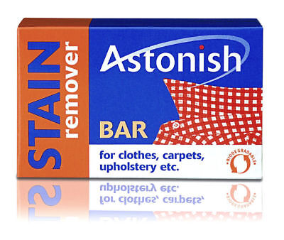 Stain Remover Bar Astonish 75g Clothes Carpets Upholstery - Non Bleach
