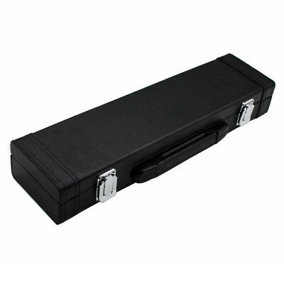 Portable Box Leather for Flute with Buckle Foam Cotton Padded SS