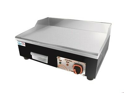 Brand New Commercial Counter Top Electric Griddle / Hot Plate 55 cm
