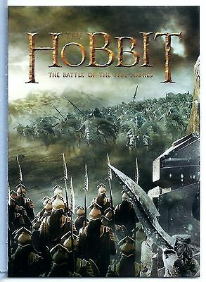 The Hobbit Battle of the Five Armies NSU PROMO #P7 Non-Sport Update Magazine
