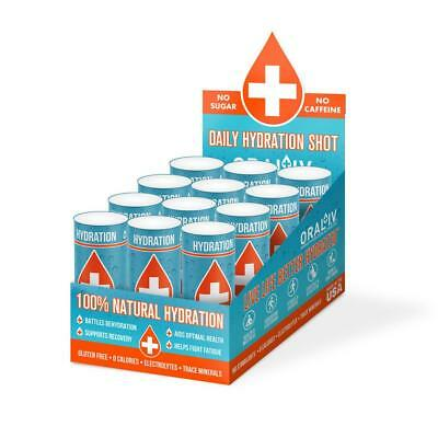 Oral I.V. Ultra Concentrate Hydration Fluid - Rapid Hydration Activator - 12 pk