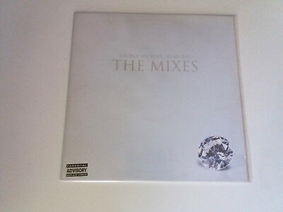 """George Michael """"flawless (The Mixes)"""" Maxi 12"""" Vinyl Vg/vg Mbe/mbe"""