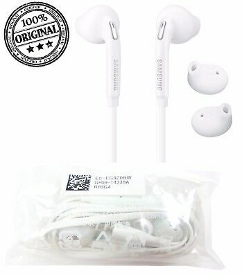 GENUINE Earphones Headphones For Samsung Galaxy S8 S7 S6 Edge S5 Note 4 5 J3 J5