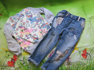 next girls jumper and jeans size 4-5 years