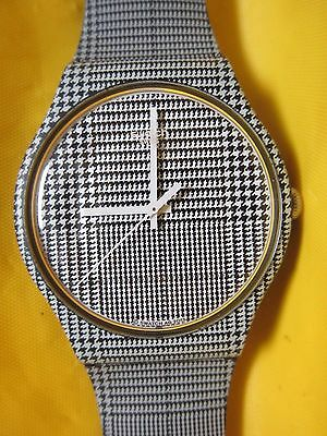 Swatch Wrist Watch Ag 2013 With Band New In Case Swiss Made & Water Resistant