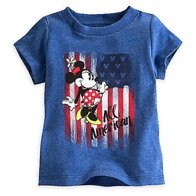 Disney Minnie Mouse Americana Tee for Baby Girl  18 to 24 months