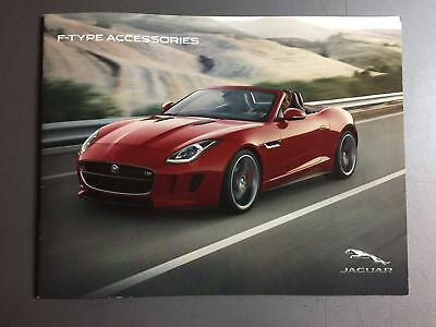 Jaguar F-Type Accessories Showroom Advertising Sales Brochure RARE! Awesome