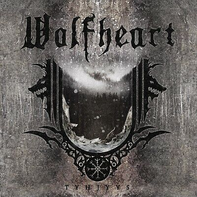 Parche imprimido, Iron on patch, Back patch, Espaldera - Wolfheart, A