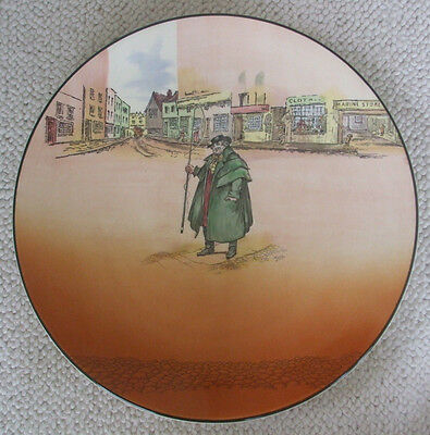 """Royal Doulton Dickens Ware 13-1/2"""" Charger/Platter - Tony Weller"""