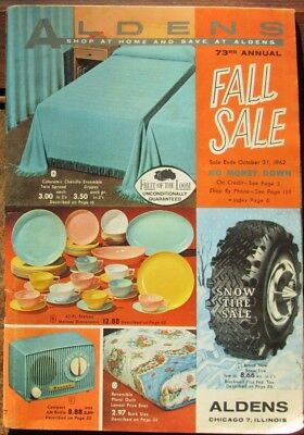 Vintage Catalog Aldens 1960s 73rd Annual Fall Sale