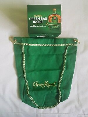 One Single Crown Royal Apple Regal 750ml multi-use Crafts Bag. No box, only bag