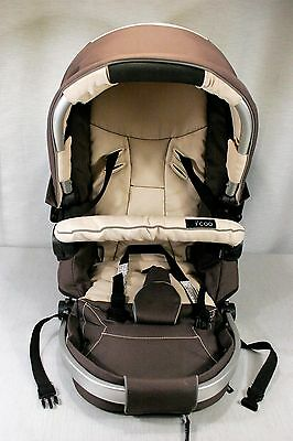 Replacement Stroller frame and Cover for i'coo / icoo TARGO 328101 Mocha  EXC!