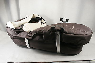 Bassinet for i'coo / icoo TARGO  Stroller Mocha and beige. Exc. condition 328101