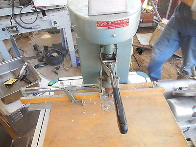 Spinnit Single Spindle Bench Model Paper Drill