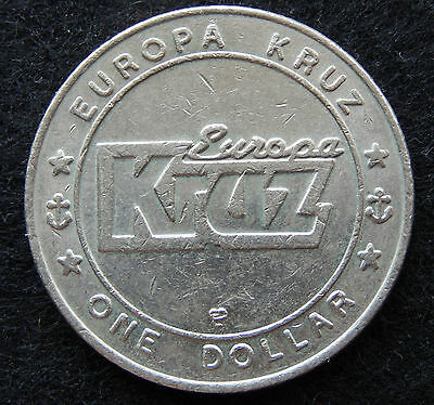 """Europa Kruz"" One Dollar Gaming Token SB3613"