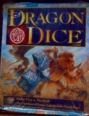 Dragon Dice >>> Feral >>> Kicker Pack >>> New And Sealed