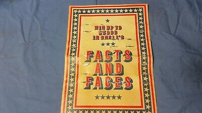 Shell's facts and faces coin game