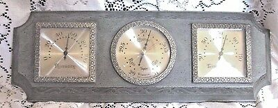 Taylor Instrument Co. Thermometer/ Barometer/ Humidity Wall Display