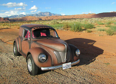 1974 Volkswagen Beetle - Classic  Custom Rat Rod Volkswagen 1940's Panel Delivery Wagon Beach Party Bug L@@K