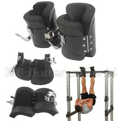 Gravity Inversion Boots Heavy Duty Abs Back Stomach Core Exerciser Gym Fitness