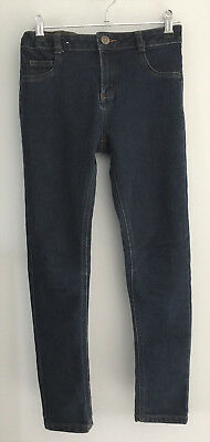 Boys Dark Blue Skinny Jeans Size 10 - Great Condition