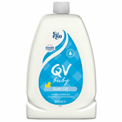 QV Baby Bath Oil 500Ml Shower & Bath Oil