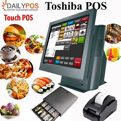 Dell Touch POS System Cafe Pizza Restaurant Fish Chips Takeaway Kebab Bar Juice