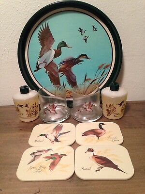 Avon Chesapeake Collection Bundle   Drinking Glasses, Coasters, Tray & More!