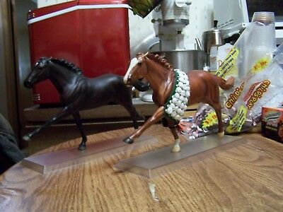 Breyer Horse Lot Ruffian Rags to Riches Lot of 2 Thoroughbred Racehorse Fillys