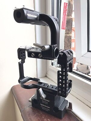 Movcam A7S Cage Kit Including Riser Block & Base Plate