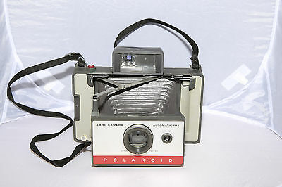 Polaroid Land Camera Automatic 104 - Tested & Working - Ships from Canada!