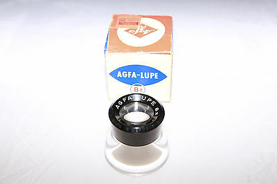 AGFA 8X Loop (AGFA-LUPE) for Darkroom & Negative Use - From Canada!