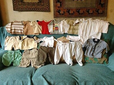 Bundle [3] job lot of baby clothes size larger newborn and 0-3 months 28 items
