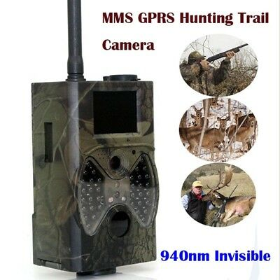 1080P Hunting Trail Digital Animal Camera Scout Night Vision LED Infrared 12MP