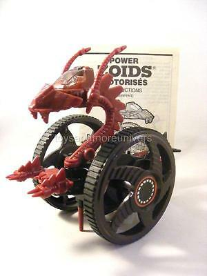 Zoids Zoid Vintage OJR 1985 POWER ZOIDS SERPENT Brown Wheels Version 100% RARE