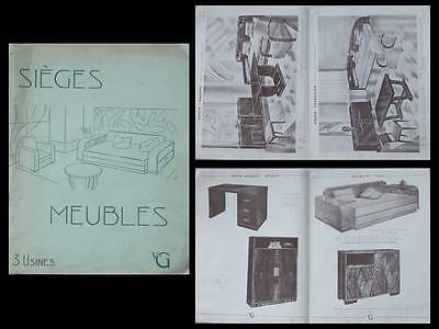 Catalogue Mobilier Georges Guillemot - 1937 - Art Deco