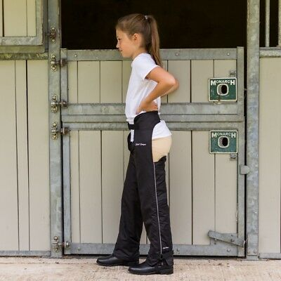 Just Chaps Kids Winter Dri Riders - Waterproof/Fleeced Lined Full Riding Chaps