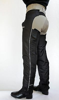 Just Chaps Adult Winter Dri Riders -  Waterproof/Fleece lined Full Riding Chaps