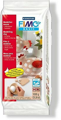Staedtler Fimo Air Basic Air Drying Modelling Clay - Flesh Colour 1 Kg