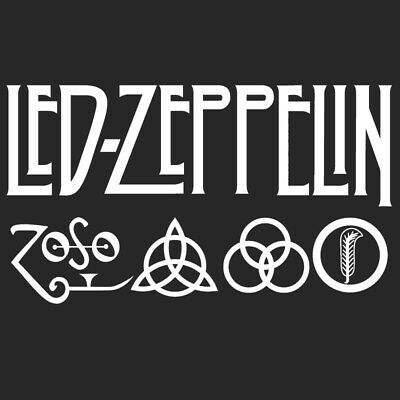 Parche imprimido, Iron on patch, Back patch, Espaldera - Led Zeppelin, new, A