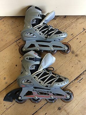 Ladies Salomon Motion 5 in line skates, Size UK 7.5