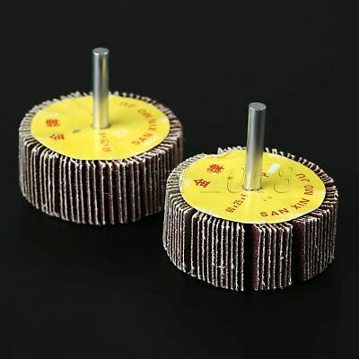 60mm 80 Grit Flap Sanding Wheel Disc Sandpaper Abrasive Woodworking Rotary Tool
