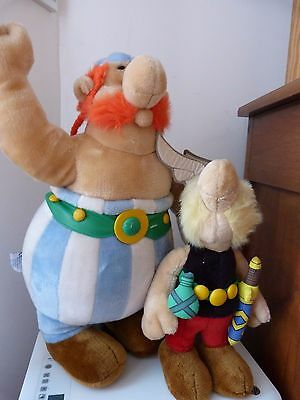 Peluche Asterix Et Obelix 1994 Copyright Be