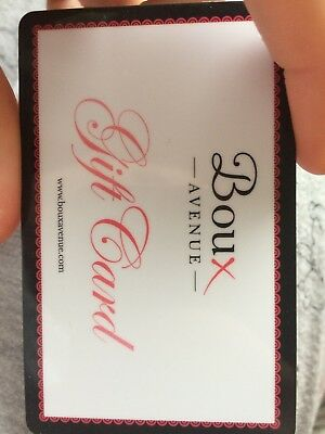 Boux Avenue Gift Card £10