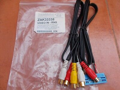 Zak33338  (Stage Motion) Cableado Video Audi A3-4-6