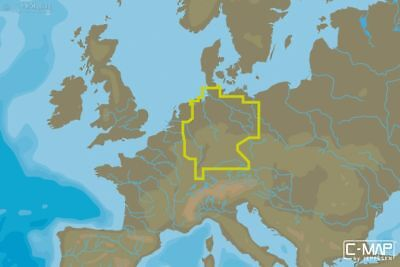 C-MAP - MAX-N WIDE - Germany Inland - µSD/SD-Karte