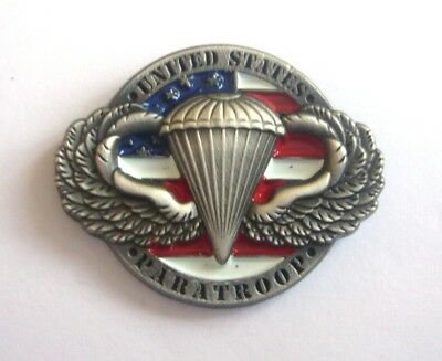 US PARATROOP 3D (Badge émail/pin's)
